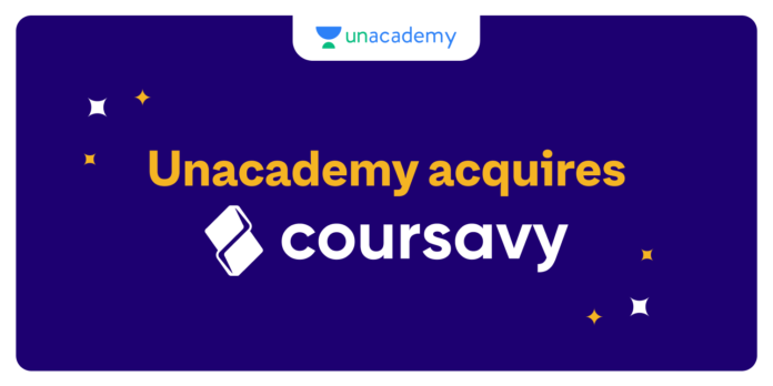 Unacademy Acquired Coursavy