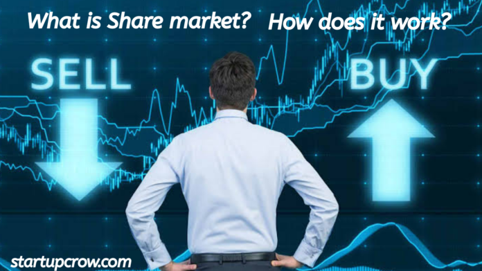 What is share market and how does it work