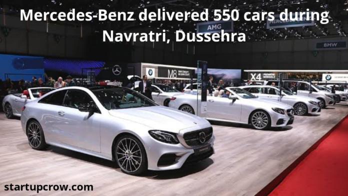 Mercedes-Benz delivered 550 cars during Navratri, Dussehra