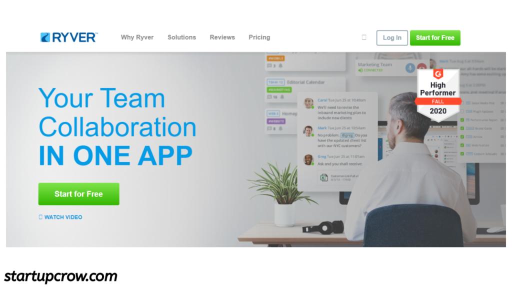 Ryver  team communication application