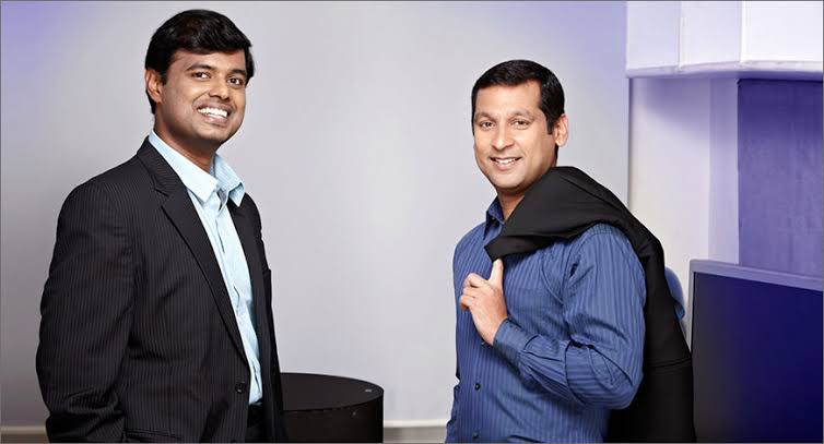 Vijayakumar Radhakrishnan(Co-founder, President-Magzter) & Girish Ramdas(Co-founder, CEO- Magzter)