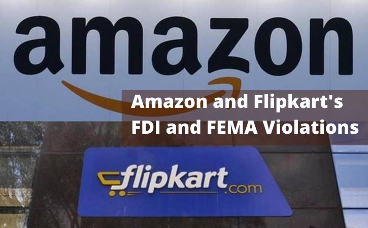 CAIT's Complaints About Amazon and Flipkart's FDI and FEMA Violations