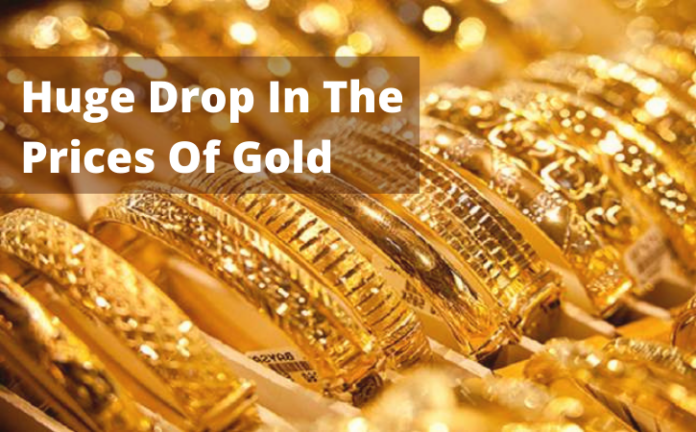 Huge Drop In The Prices Of Gold