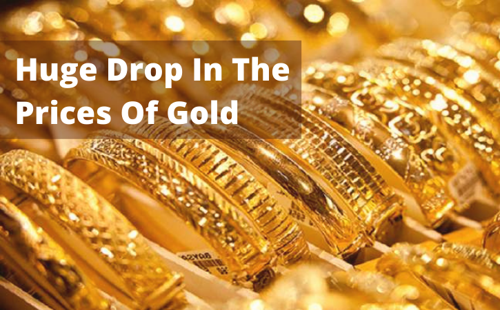 Huge Drop In The Prices Of Gold: Worst Start To Year For Gold Compare to 30 Years