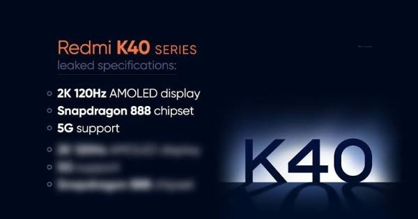 Redmi K40 Specs, Redmi K40 Pro Full Specifications
