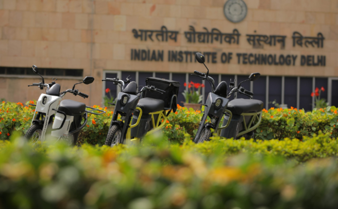 Key Features of E-scooter by IIT Delhi