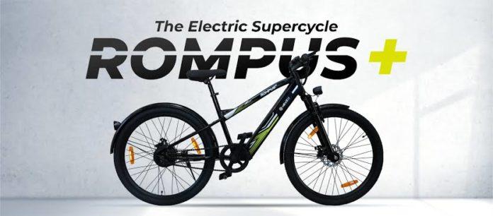 Rompus+ Electric bicycle