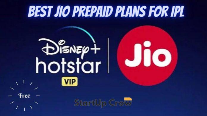 Reliance Jio Prepaid Plans ipl 2021