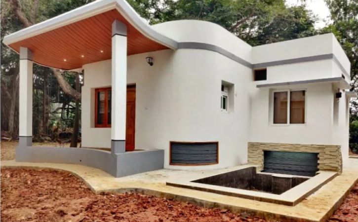 First Time In India IIT Madras Startup Build A House Using 3D Printing Technology