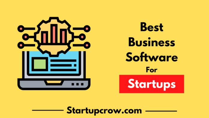 Best business software for startups