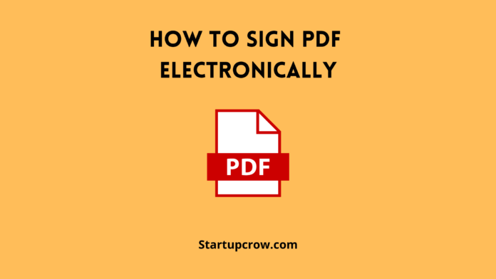 How Can I Sign PDF Documents Online