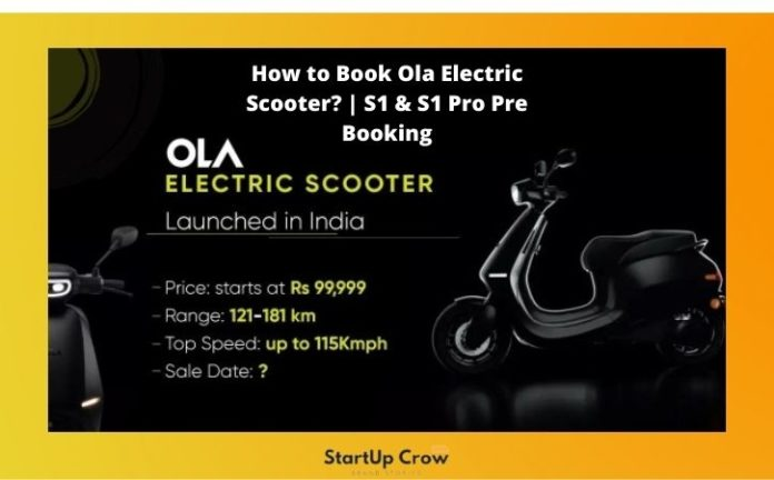 How to Book Ola Electric Scooter?   S1 & S1 Pro Pre Booking